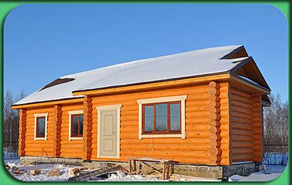 Строительство дома сруба 114 м2