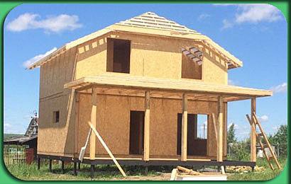 фото строительства дома СИП 158 м2