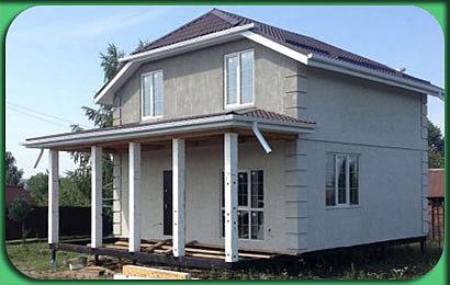 Строительство дома СИП 158 м2