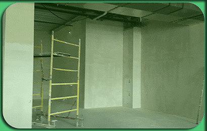 Штукатурка в производственном помещении 320 кв.м 1