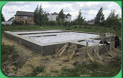фото строительства дома 113 м2 с мансардой, под ключ