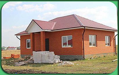 Строительство одноэтажного дома 102 м2