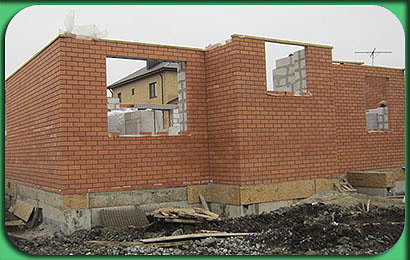 фото строительства дома 286 м2