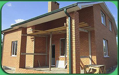 Строительство дома 286 м2 с мансардой и цоколем