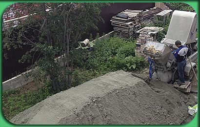 полусухая стяжка коттеджа в Терновке 1