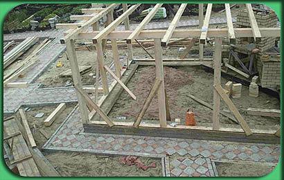 фото строительства дачного комплекса
