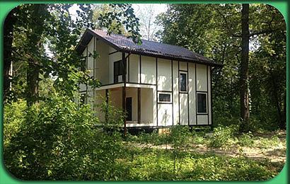Строительство дома СИП 124 м2