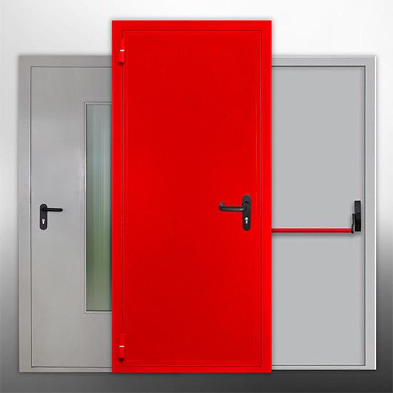 Каталог противопожарных дверей